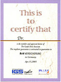 certify that Dr.Nonoyama