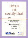 certify that Dr.Nonoyama