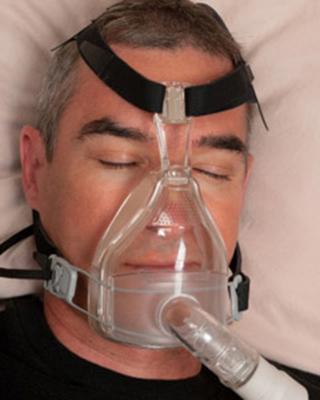 睡眠時にCPAPを使用